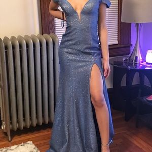 Royal blue/Purple Dress
